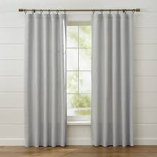 Linen Curtain Panels 108 Curtain Panels And Window Coverings Crate And Barrel