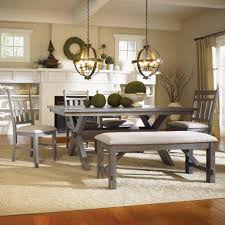 Bench For Dining Room Dining Room Table And Chairs With Bench