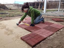 Snap Together Patio Pavers by Landscaping Project Number Two Paver Patio Voice Of Joice