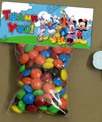 mickey mouse clubhouse party supplies mickey mouse clubhouse party favor labels decoration