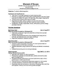 Sample Resume Qualifications Best Ideas Of Sample Resume For Barista Position For Cover Letter
