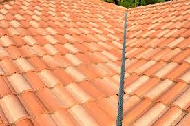Ceramic Tile Roof Spanish Tile Roof Stock Photo Image Of Background Residential