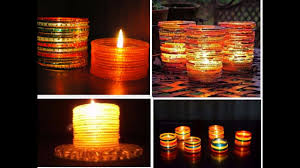 candle stand with waste cd youtube