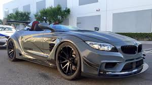 modified bmw this bulletproof bmw z4 isn u0027t bulletproof but is deranged top gear