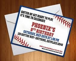 baseball invitation baseball invite batter up party