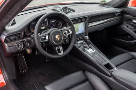 porsche 911 inside 2017 porsche 911 turbo drive review motor trend