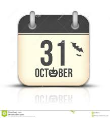 free halloween icon halloween calendar icon with reflection 31 royalty free stock