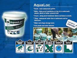 aqualoc waterproofing system