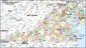 maryland map by county outline virginia maryland dealware map to print