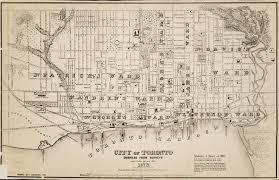 Map Of Toronto Roads Ontario Toronto Maps Toronto Public Library
