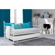 weston home grey linen daybed with trundle walmart com