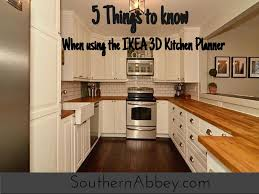 Design Ikea Kitchen 5 Things To About Using The Ikea 3d Kitchen Planner At