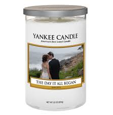 personalized candle personalized candles spark ideas for wedding related gifts