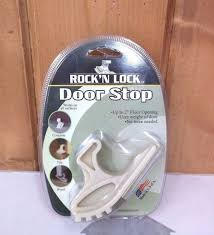 Pictures Of Door Stops by Rock N Lock Door Stop Up To 2 Inch Floor Opening Easy Removable
