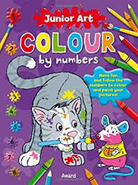 christmas color number dover children u0027s activity books