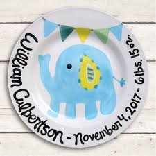 personalized baby plate personalized baby gifts baby boy baby plate personalized