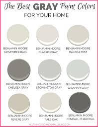 gray paint colors for your home best benjamin moore gray paint