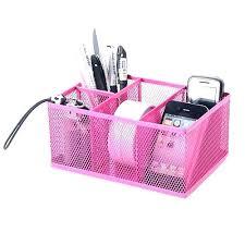 Desk Accessories Organizers Pink Desk Supplies Desk Organizer Desk