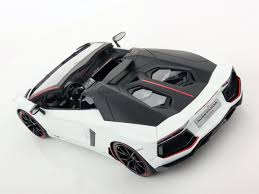Lamborghini Aventador Convertible - lamborghini aventador lp 700 4 roadster pirelli edition 1 18 mr