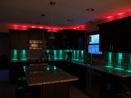 Kitchen Light Under Cabinets by Kitchen Led Lights Inside Cabinet Lighting Low Profile Under