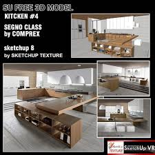 3d kitchen design sketchup texture sketchup model kitchen