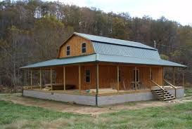 barn style roof gambrel cabins