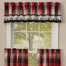 Cabin Valances Rustic Cabin Curtains Valances Cabin Place