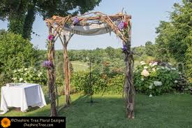 wedding arches chuppa berkovitz 13 crabtrees kittle house wedding flowers ceremony arch