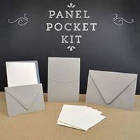 invitation kits cards and pockets pocket invitation kits