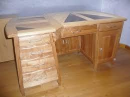 plan de bureau en bois meuble en bois concept création