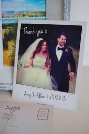 wedding thank you cards polaroid wedding thank you cards marty mccolgan graphic and web