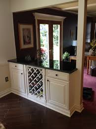 Kitchen Island Wall by Delighful Kitchen Island Knee Wall To Family Room Creates An