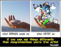 Artist Meme - artist eye view by nazzquipit meme center