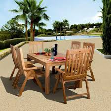 Agio 7 Piece Patio Dining Set - hanover monaco 7 piece outdoor patio dining set monaco7pcsw the