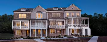 Homes Built Into Hillside Alstead New Homes And Townhomes Roswell Atlanta Ga John Wieland