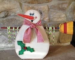 wooden snowman built this wooden snowman