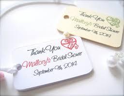 bridal shower favor tags bridal shower favor tags shower thank you tags custom favor tags