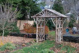 Arbors And Pergolas by Rustic Arbors U0026 Pergolas Wedding Chuppahs Branch Trellises