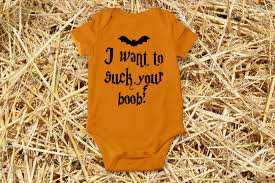 infant halloween onesie i want to your