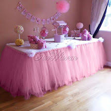 tutu chair covers tulle party decorations ebay