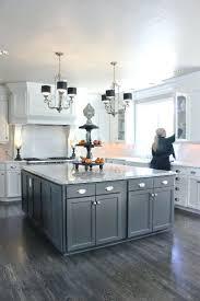 grey kitchen cabinets what colour wallsdark island and white dark