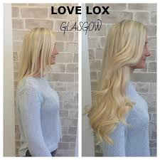 lox hair extensions lovelox glasgow hair extensions extensions