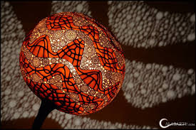 calabarte unique handcrafted gourd lamps from przemek