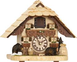 Chalet Style by Cuckoo Clock Quartz Movement Chalet Style 21cm By Trenkle Uhren