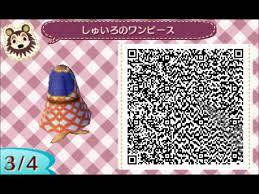 acnl hair qr codes animal crossing new leaf qr codes part 1 youtube