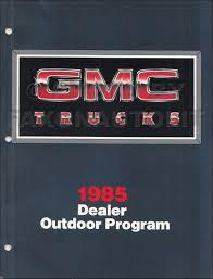 1985 gmc s 15 pickup u0026 s15 jimmy repair shop manual original