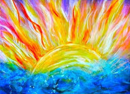 best 25 sun painting ideas on pinterest moon and sun painting