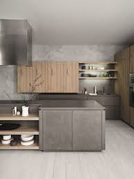 fitted kitchen with island without handles cloe composition fitted kitchen with island without handles cloe composition cesarkitchen