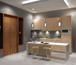 design for small space wooden cabinet kitchen design for small