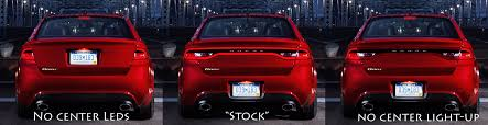 difference between dodge dart sxt and rallye racetrack light recall page 3